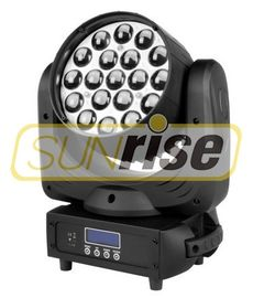 Good Quality LED Moving Head Light & 19x15W RGBW Dmx Moving Head Lights , LCD Display Beam Stage Wash Lighting on sale