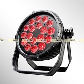 China IP65 18*15W Waterproof LED Par Light  RGBWA 5in1 for Music Show Wedding&Party distributor