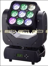 Good Quality LED Moving Head Light & 9PCS 12W RGBW 4in1 LED Moving Head Light , IP33 Moving Led Stage Lights on sale